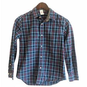 J. Crew Boys Plaid Shirt